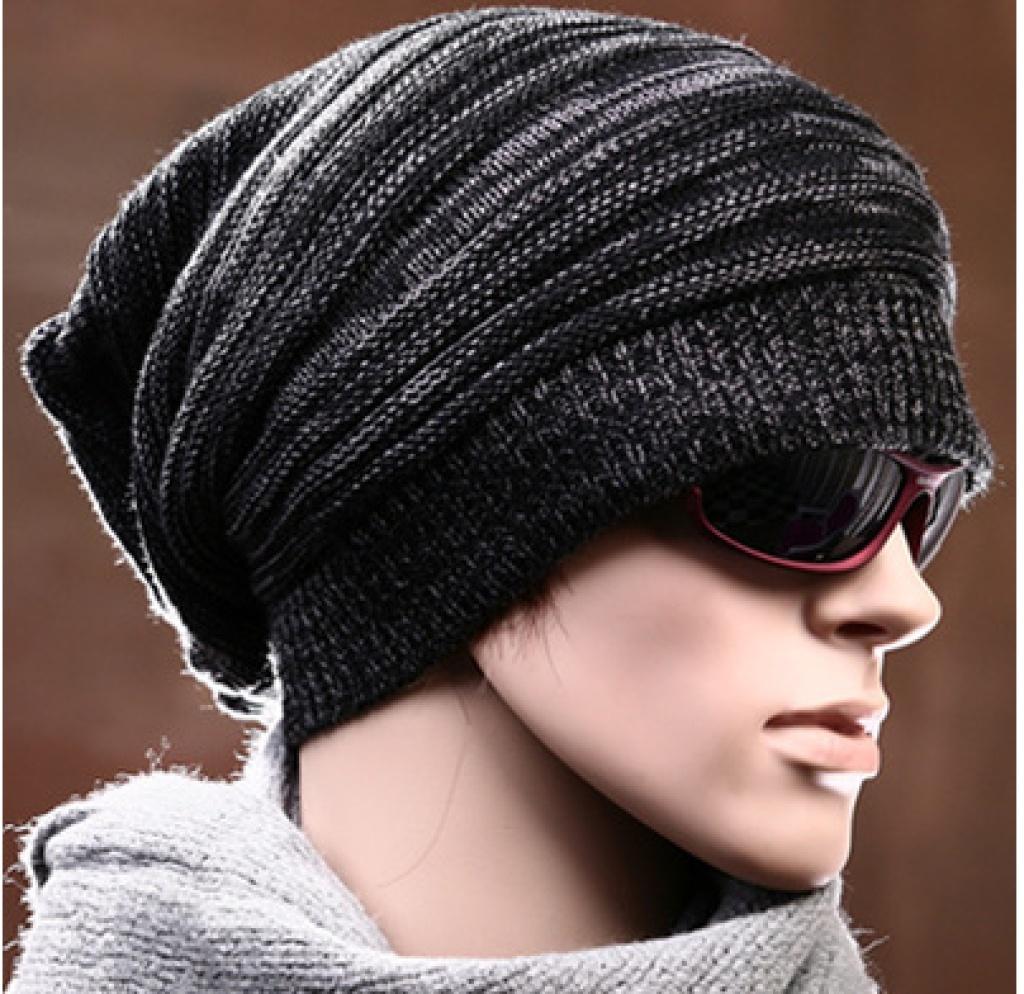 男毛线帽子编织图解-男士帽子编织花样图解_帽子男款