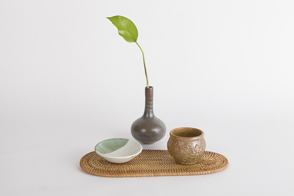 越南秋藤手编茶垫藤编养壶垫隔热垫杯垫创意茶托藤排
