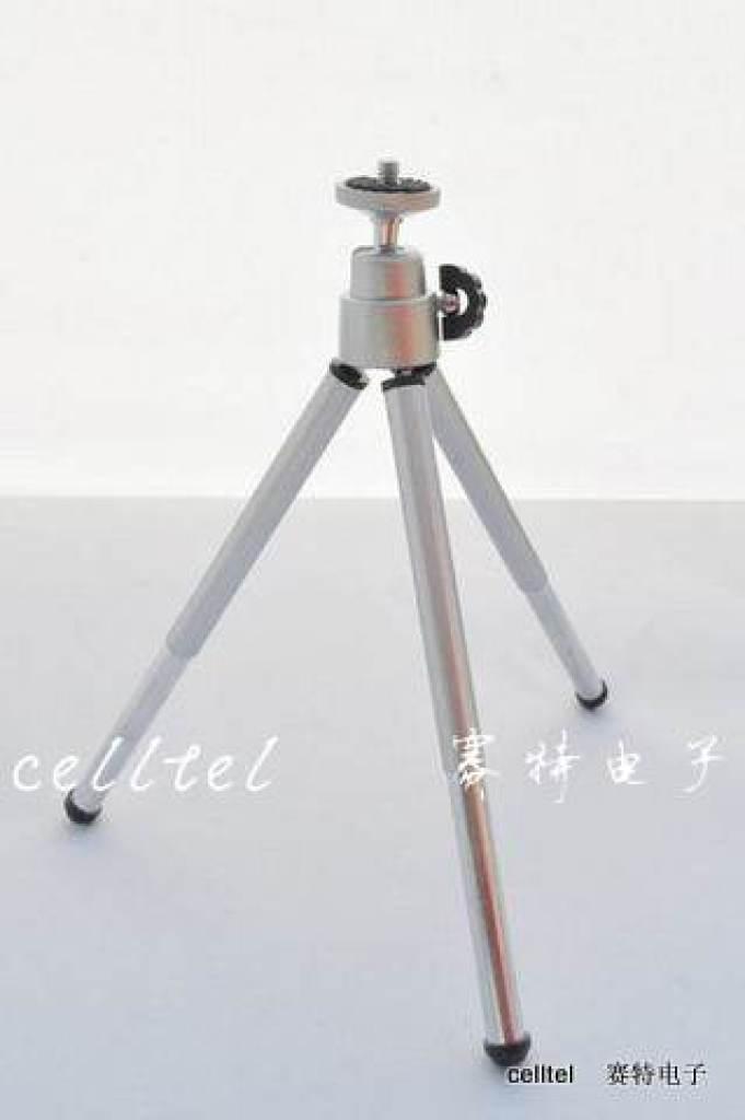 相机三脚架 电镀头三脚架