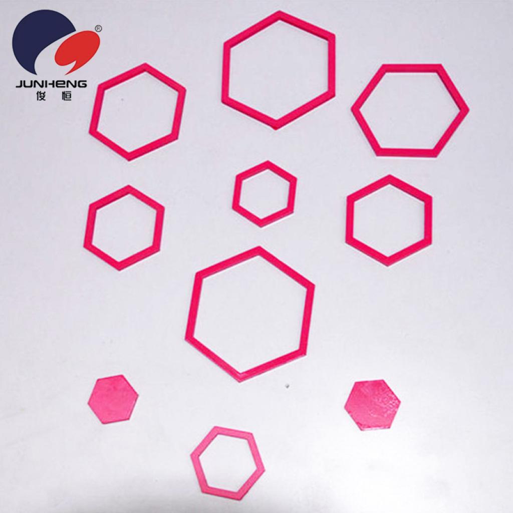 六角形のステレオ壁ステッカーのアイデア背景デコレーション ステッカー JH QT0344