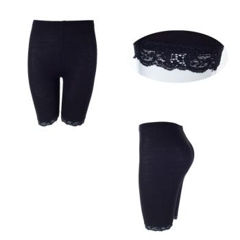 Creative summer wardrobe malfunction-proof new Mercerized cotton lace five-straight jeans