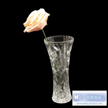 Flower Crystal vase simple modern transparent water vases vase decoration