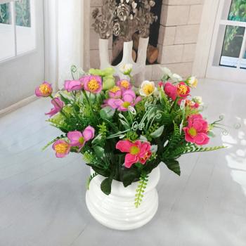 Simulation flower artificial flower 5 roadside flowers