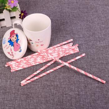 环保纸吸管外贸彩色纸吸管 婚礼创意纸吸管纸
