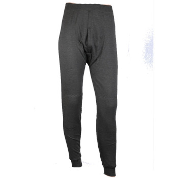 One men's leggings solid color pants in winter and cashmere thick warm pants