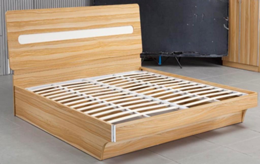 欧式床 中纤板床 液压床板图片