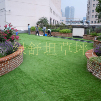 Artificial turf artificial turf artificial turf plastic false lawn nursery school roof terrace green carpet