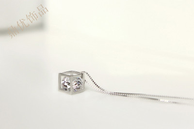 Europe and the big counters zircon clavicle zircon necklace chain jewelry wholesale factory direct