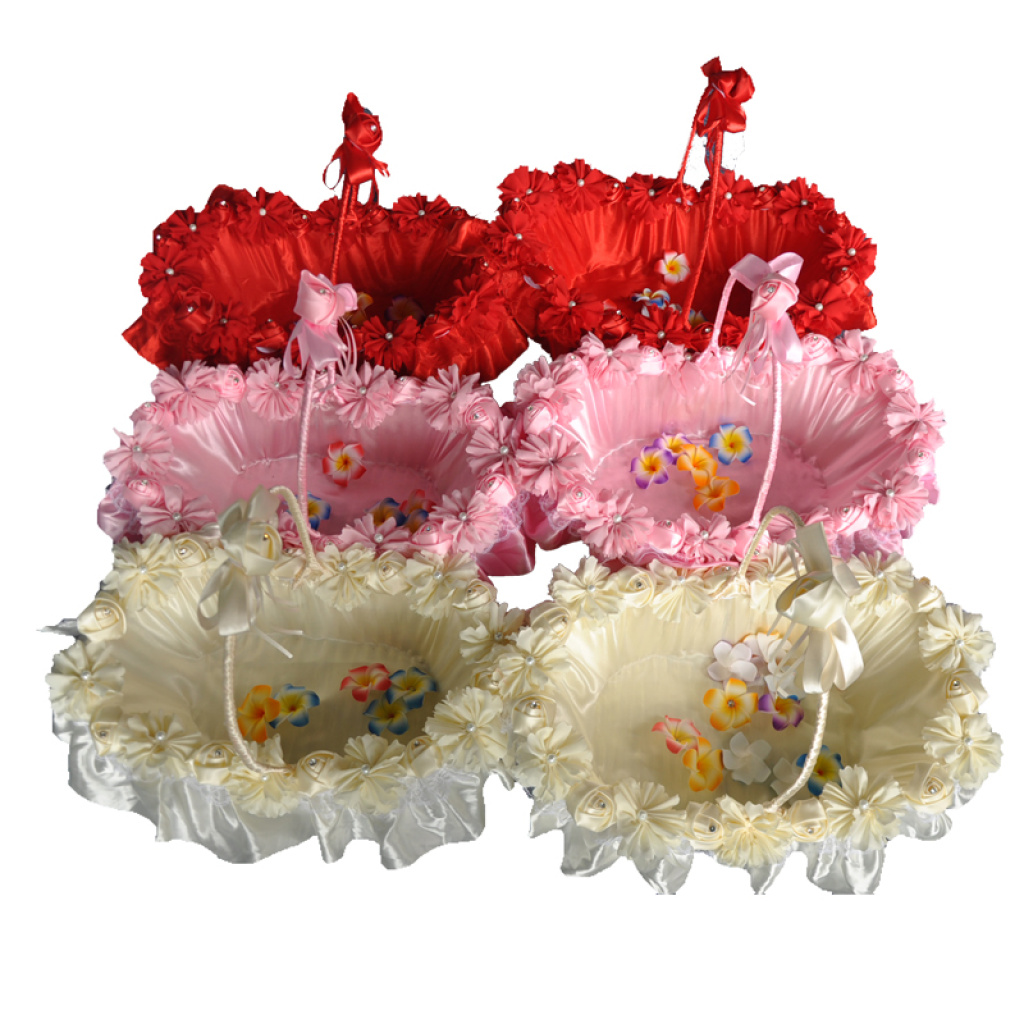 Supply Wedding supplies wedding petal basket shopping basket basket ...