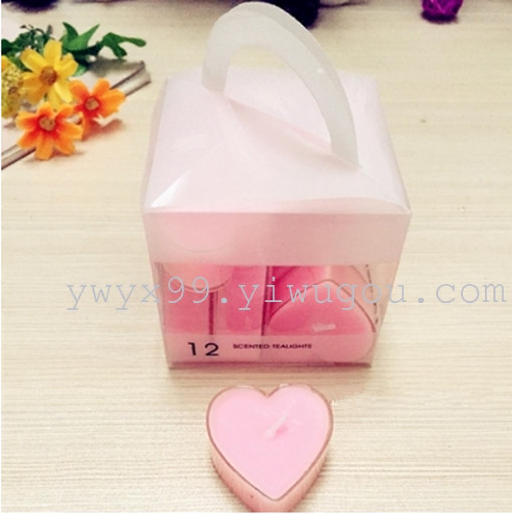 Supply Acrylic plastic tea-wax aromatherapy candles wedding show ...