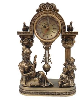 丽盛时钟仿复古风格家居装饰欧式座钟客厅