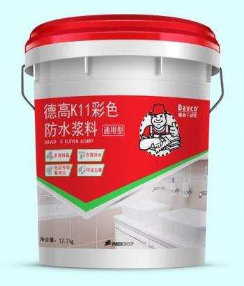 德高防水k11通用型 防水涂料 卫生间 厨房阳台防水材料图片