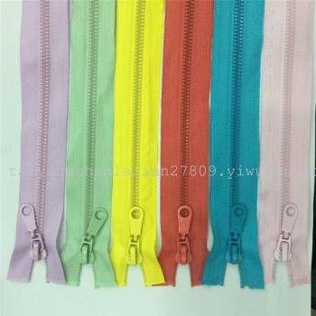 5th resin open-end zipper, Sun protection clothing special zippers, high quality zippers