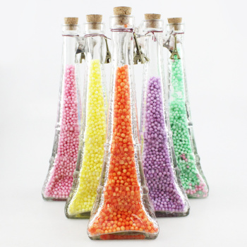 Ten shop supplies household decoration bottle wishing bottles colorful beads towers wishing bottles