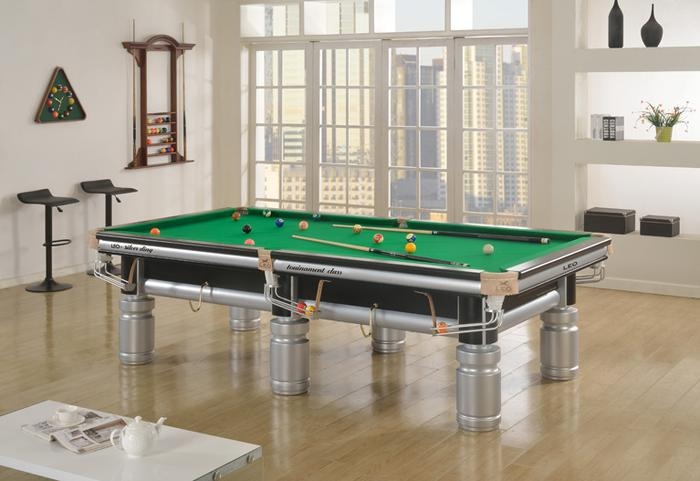 Supply Pool Table Silver Tripod - First pool table