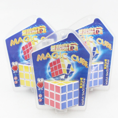 Ten shops supply children's educational toys puzzle Rubik's cube card 222 double suction Rubik's cube