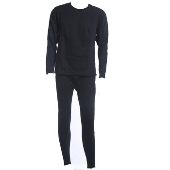Add plush padded men's thermal underwear
