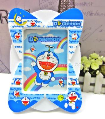 7 inch cartoon photo frames wave Butterfly table photo frames