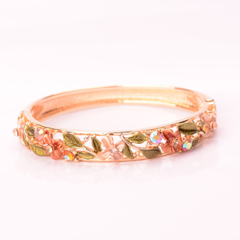 Retro folk style painted bracelets fashion jewelry