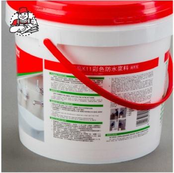 德高防水k11通用型 防水涂料 卫生间 厨房阳台渗透防水材料图片