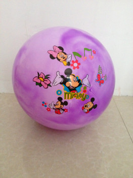 The new inflatable racket ball ball clouds thickened even mark labeling cloud ball toys wholesale