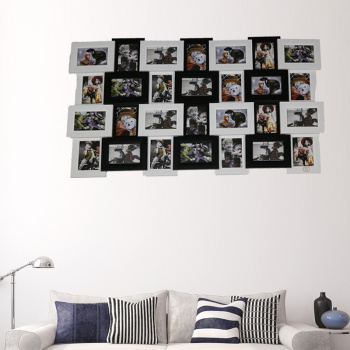 A piece combination frame, the wall of the creative soft loaded wall