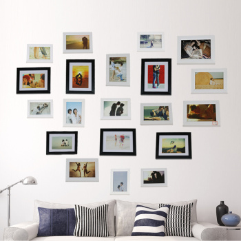 Decorative frame photo frame combination wall creative mosaic wall