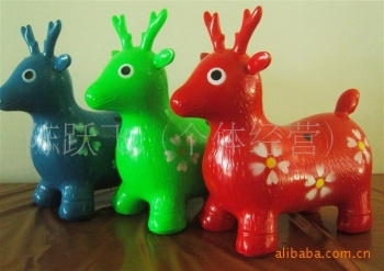 [Factory outlets] new genuine thickened jumping horse inflatable horse inflatable toys