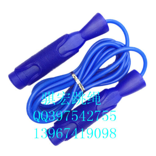Qi Hong student standard anti-sliding bearings handle skipping plastic rope skipping adult fitness weight loss