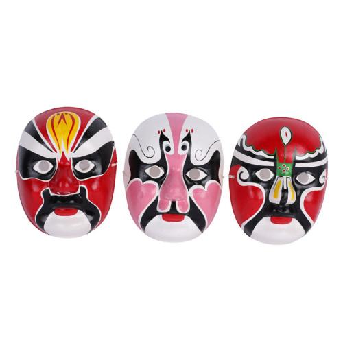 京剧脸谱面具 化妆舞会用品 传统文化装饰