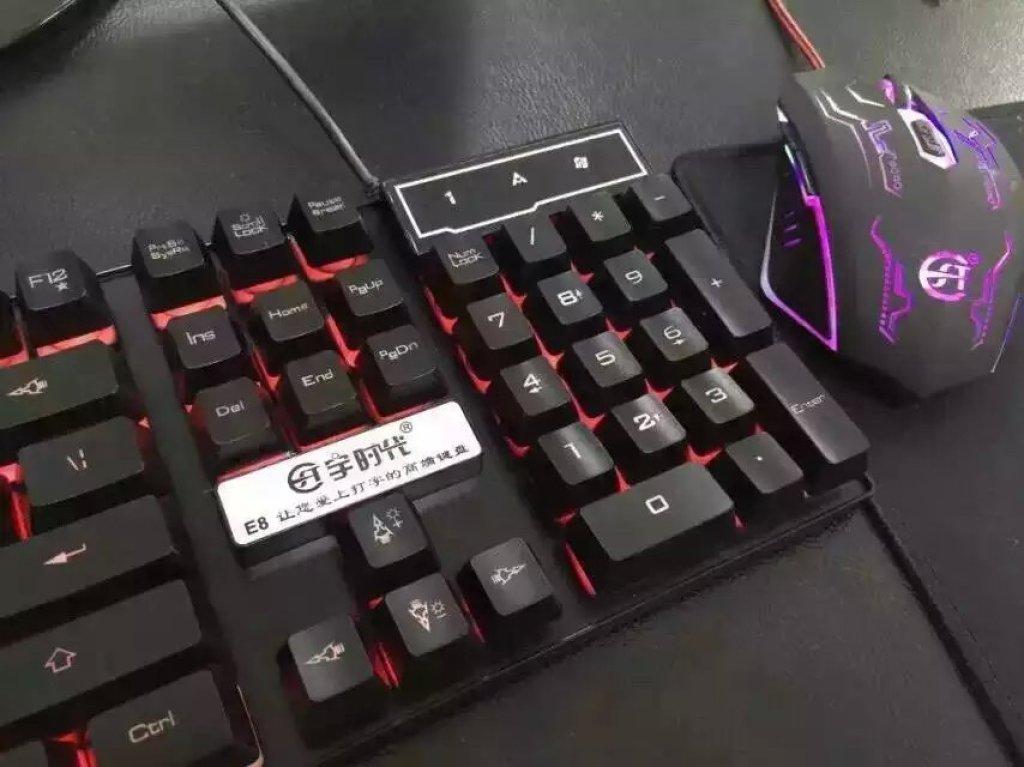e8爱打字高低键,电脑笔记本键盘鼠标,按键舒适