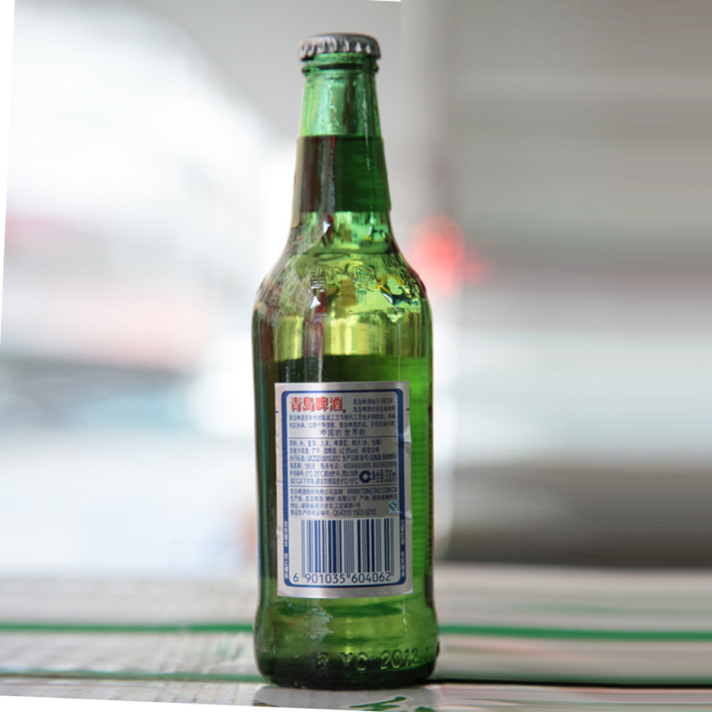 青岛啤酒 欢动啤酒瓶装 330ml