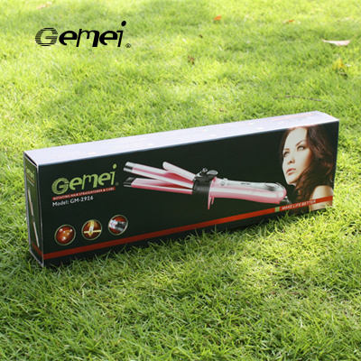 Women's two-in-one perm with PROGEMEI gme 2926 straightener can adjust the temperature of the splint perm