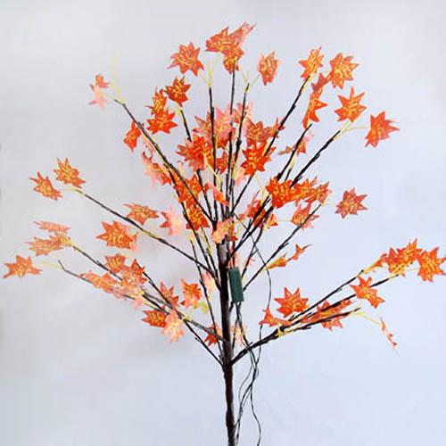 产品品名为枫树工艺灯,树干采用优质塑料制作,外形美观,样子逼真,适合
