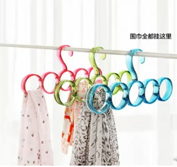 Colorful circle scarf hanger frame beioufeng tie ring ring belt stockings
