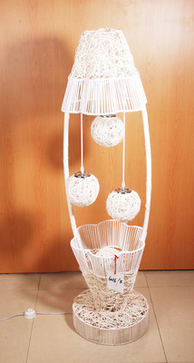 Rattan lamp manufacturers selling handmade vases bedroom lamp creative rattan lamp