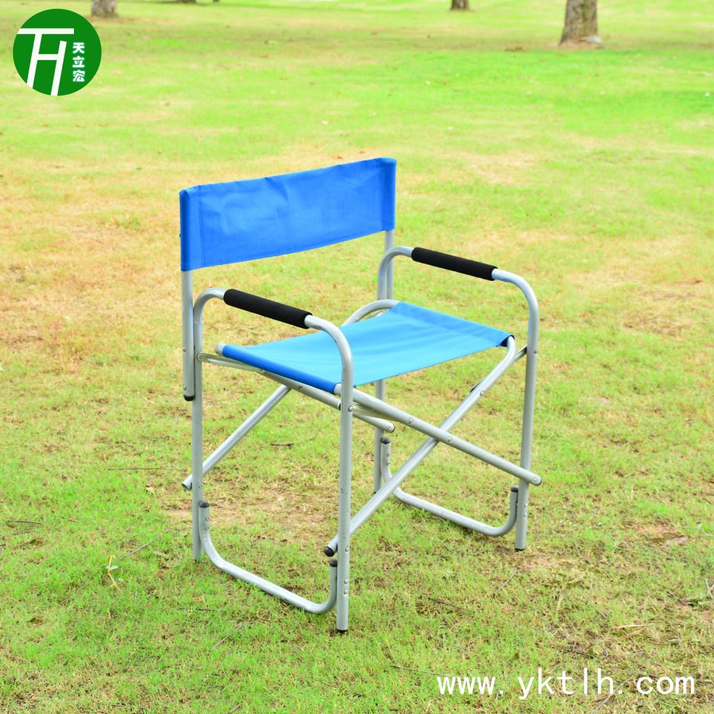 Supply outdoor cheap iron director chair