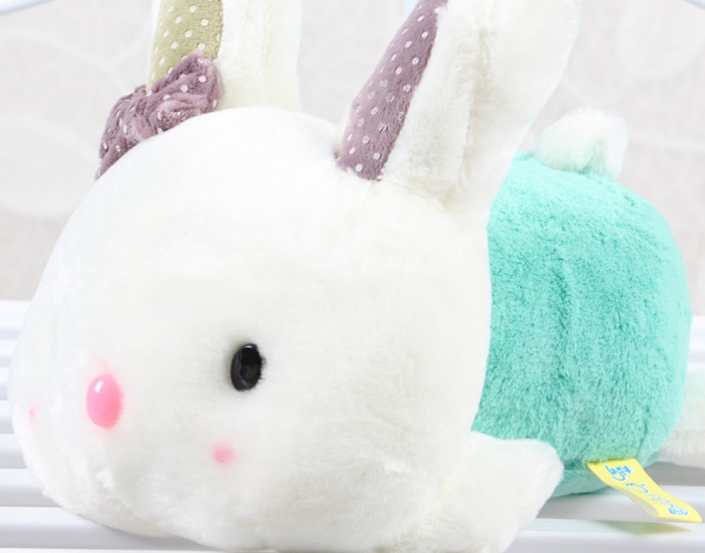 可爱卡通蝴蝶趴趴兔毛绒玩具公仔玩偶布娃娃礼品