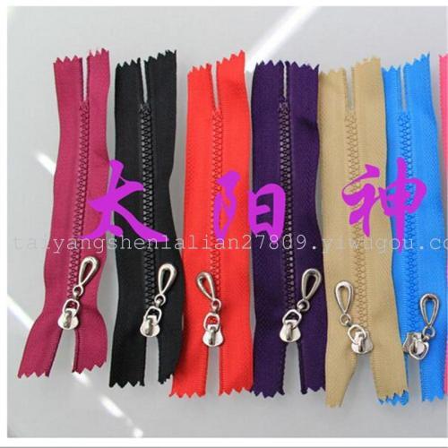 3rd resin zipper garment accessory bag zipper