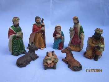 Manufacturers selling creative gifts of Christmas decoration crafts ornaments manger