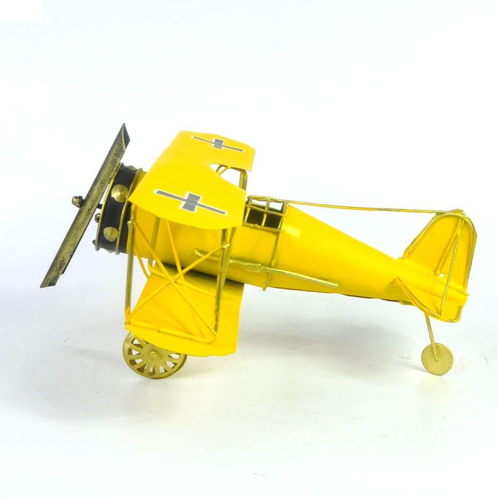 手工创意复古铁艺老式飞机