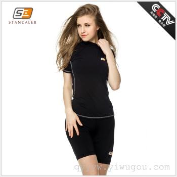 Shengjiale tights high elastic clothing fitness fitness wear sportswear women running tights
