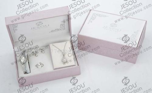 Supply Men And Women Watch Gift Box Necklace Earrings Ring Jewelry
