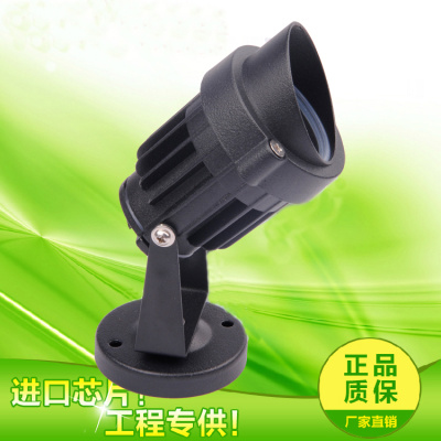 LED lamp 3W lamp waterproof 12V24V220V lawn lamp park outdoor floodlight lamp
