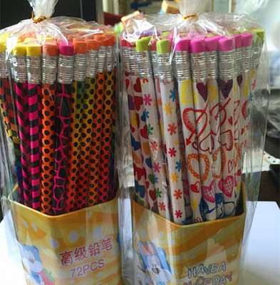 Color cartoon film 72 leather pencil barrel