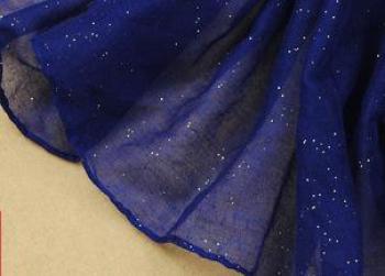 Knitted material, Muslim Baotou, plain, plain, flat panel, Bali, gold foil