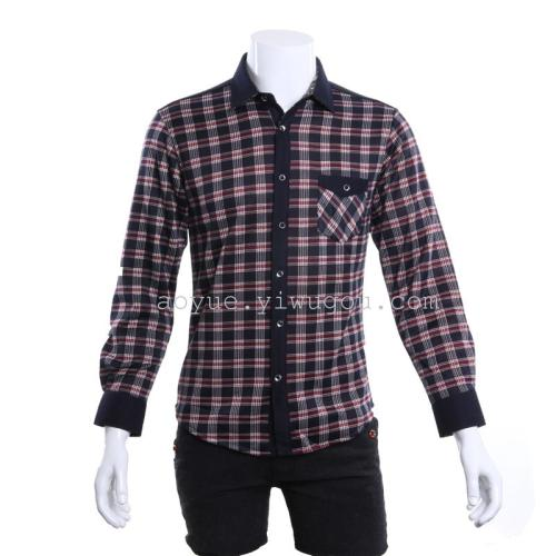 Men's business casual clothes, thick and warm clothes