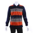 Fitted for new men's Plaid long-sleeved Daddy old casual slim padded t-shirt