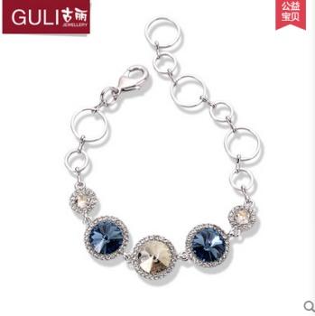 Guli uses SWAROVSKI crystal chain series Bracelet
