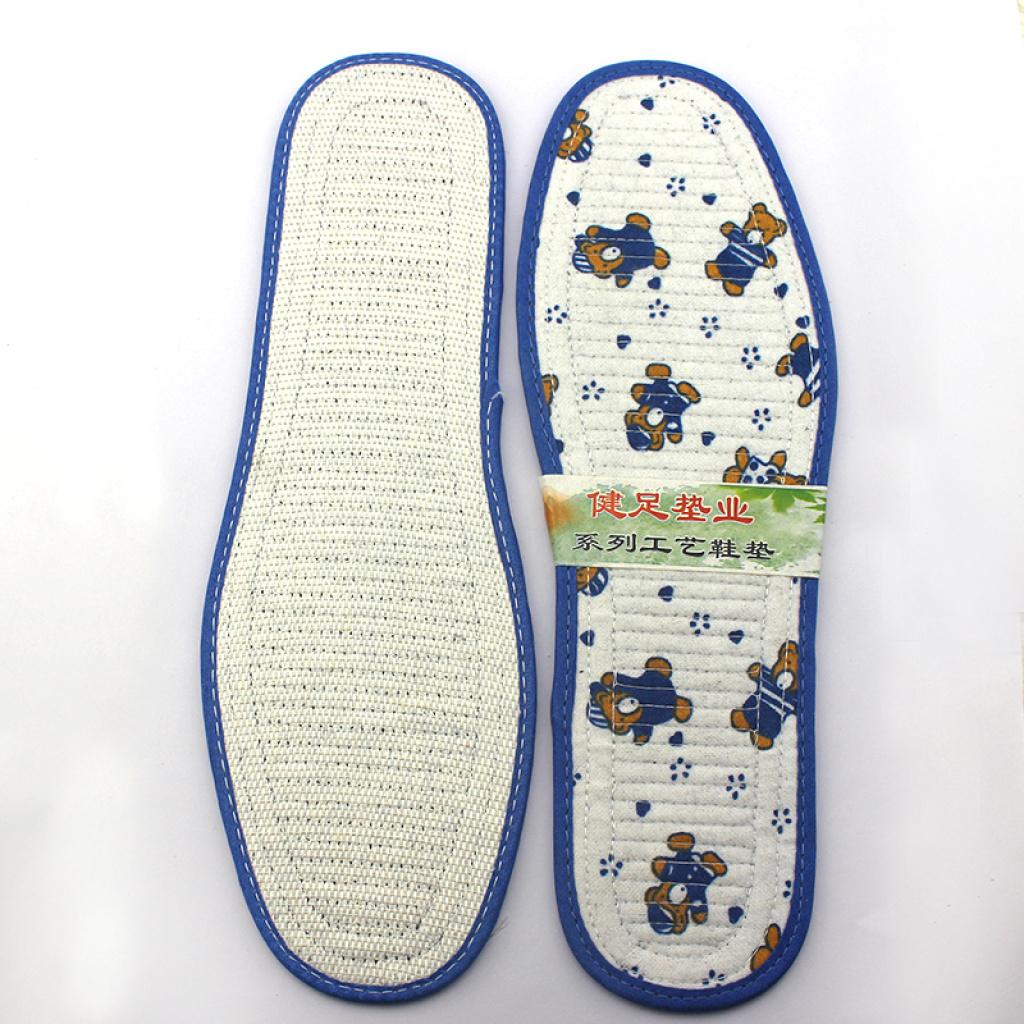 儿童竹炭全棉鞋垫批发 小孩鞋垫卡通图案 吸汗 透气 除臭防